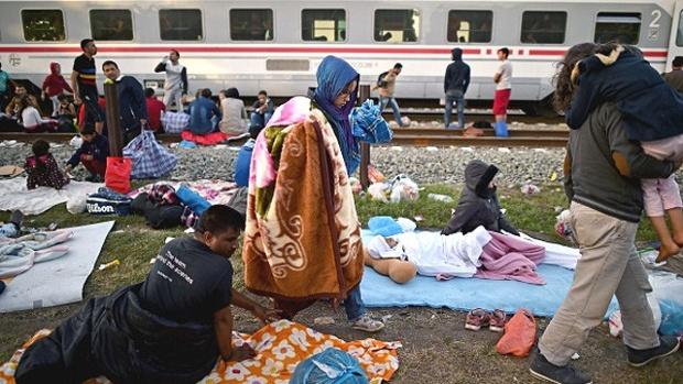 Migrants Croatia
