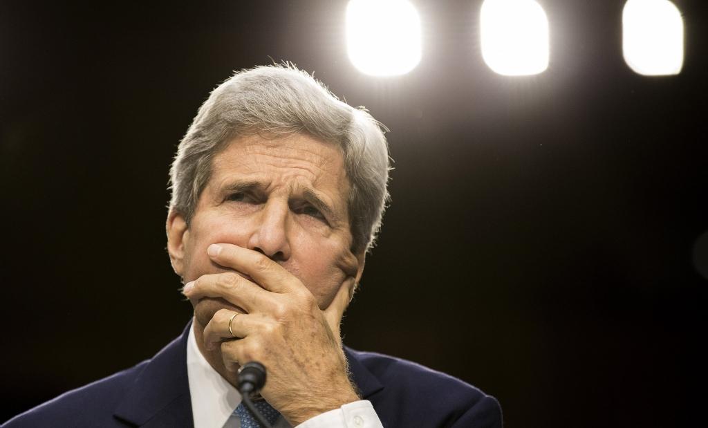 Joshua Roberts  ReutersSecretary of State John Kerry testifies at a Senate Foreign Relations Committee hearing