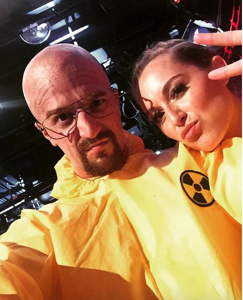 Mark Ballas and Alexa Pena Vega on 'Dancing With The Stars&#039