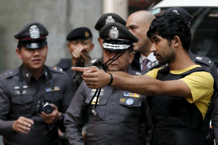 Four Malaysians among eight held over Bangkok shrine blast