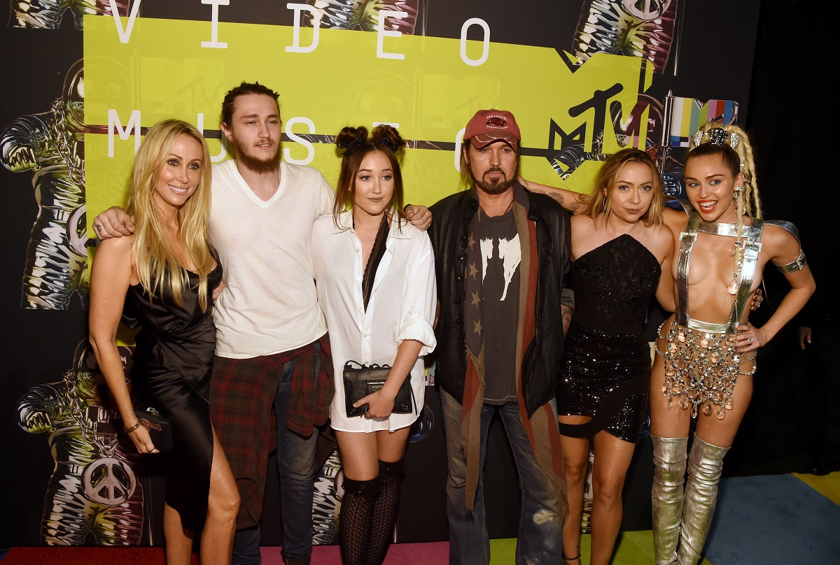 Miley Cyrus and Family and 2015 VMA's
