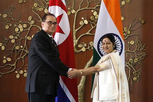 Ri Su Yong Sushma Swaraj