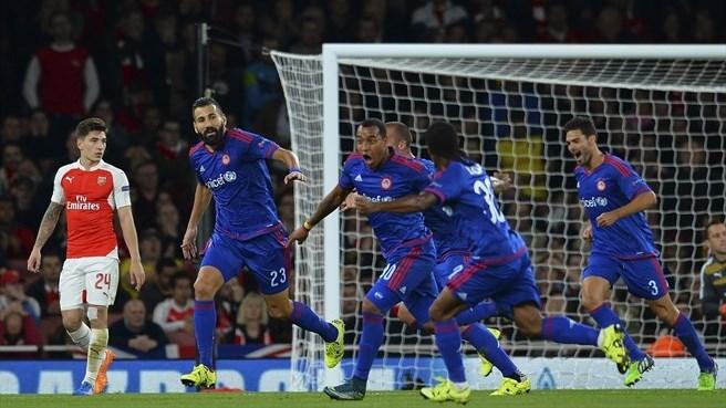 Arsenal To Beat Olympiakos: Live Scores, UEFA Live Stream