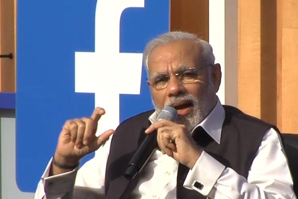 Prime minister Narendra Modi visited Facebook headquarters during his trip