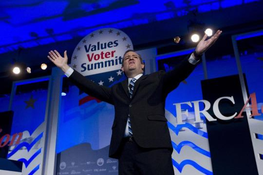 Religious liberty Ted Cruz 's conservative 'rocket fuel