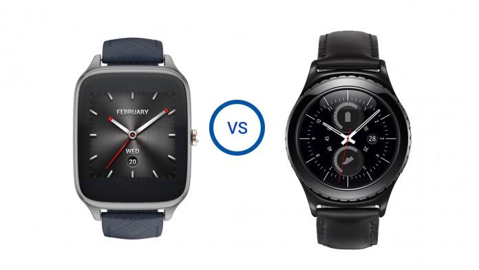 Asus ZenWatch 2 vs Samsung Gear S2: Android Wear vs Tizen Smartwatch comparison