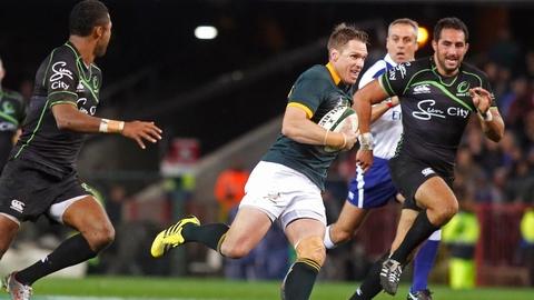 Springboks midfielder Jean de Villiers needs to regain form