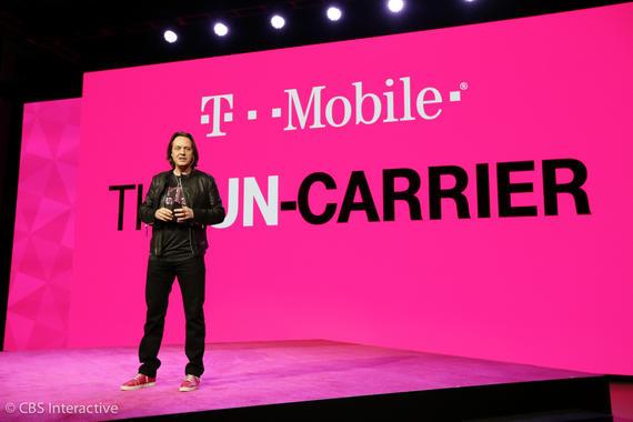 T-Mobile CEO John Legere.               CNET
