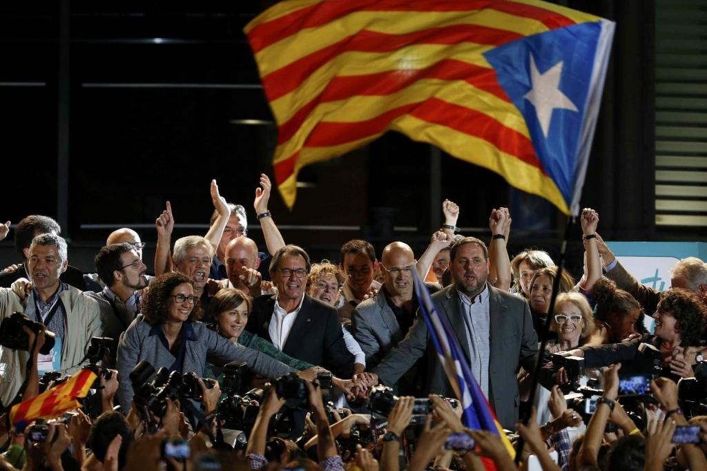 Catalan secession parties triumph but face problems