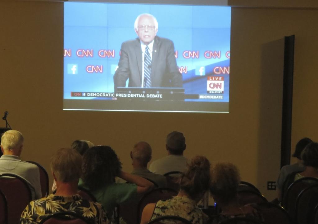 Bernie Sanders Viewing Party