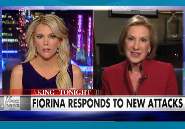 Megyn Kelly Carly Fiorina Responds to New Attacks