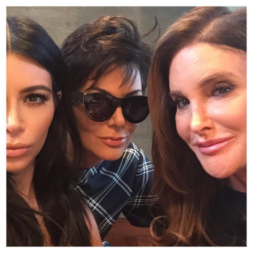 The Kardashians: Kim's make-up play on Caitlyn