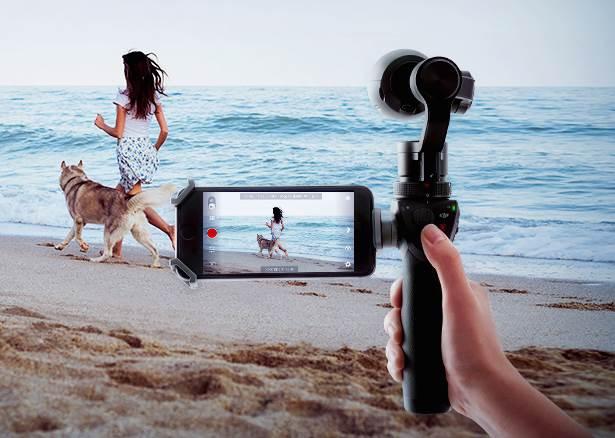 DJI Osmo 4K Handheld Camera Delivers Cinema-Quality Stabilization