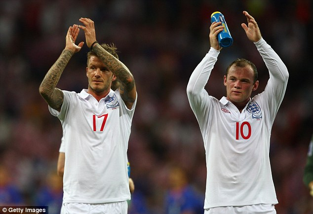 David Beckham has backed Wayne Rooney to break out of his poor form and bounce back
