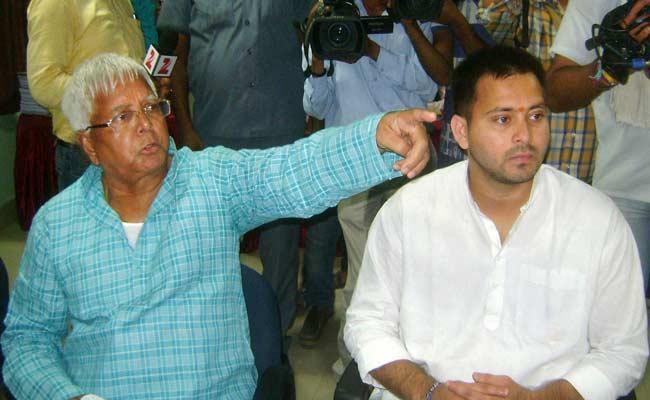Lalu Prasad's Son Tejaswi Files Nomination for Bihar Elections