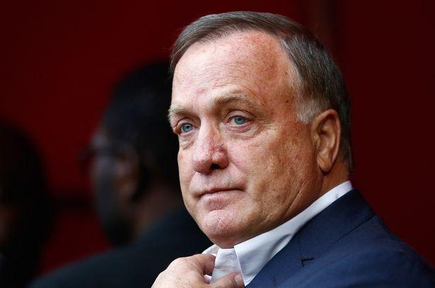 Dick Advocaat head coach of Sunderland looks