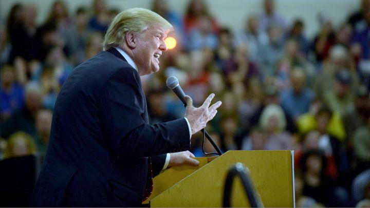 Donald Trump cited the 1974 vigilante film 'Death Wish&#039 to defend the Second Amendment at a Nashville rally                  Darren McCollester  Getty Images News