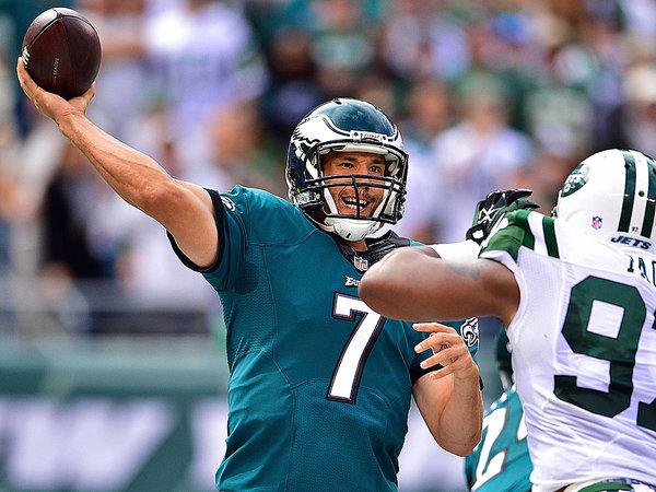 Eagles quarterback Sam Bradford