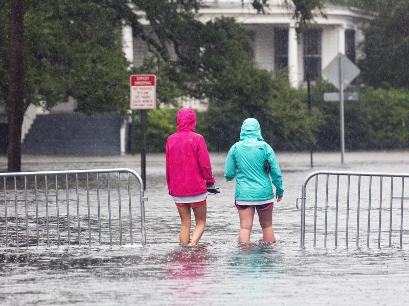 Photos & Video: Hurricane Joaquin Approaches
