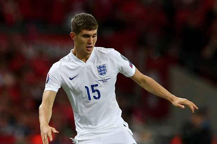 Everton's Stones who sat out Sunday's Merseyside Derby against Liverpool with a knee injury will miss the games against Estonia at Wembley on Friday and in Lithuania on Monday