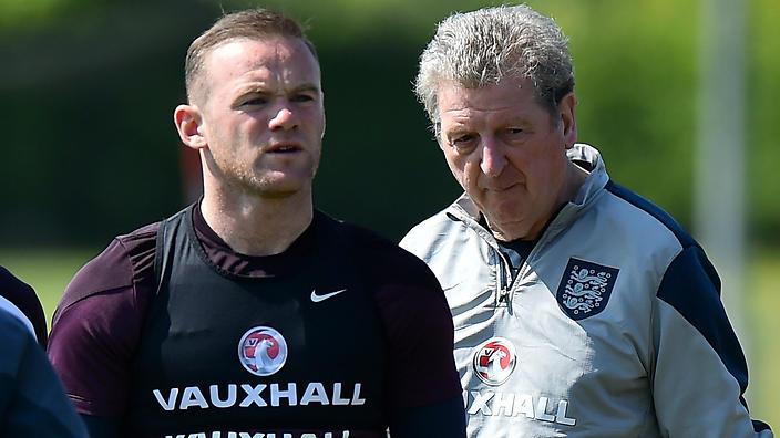 England captain Wayne Rooney and manager Roy Hodgson                                                 Show Grid