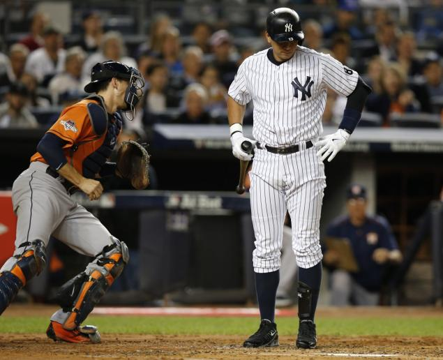 Alex Rodriguez's 2015 magic runs dry as he goes 0-for-4 with two strikeouts in the AL wild-card game