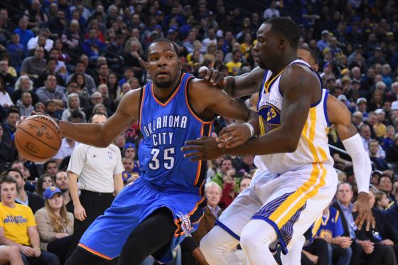 Kevin Durant cleared to play as Thunder prepare to open camp