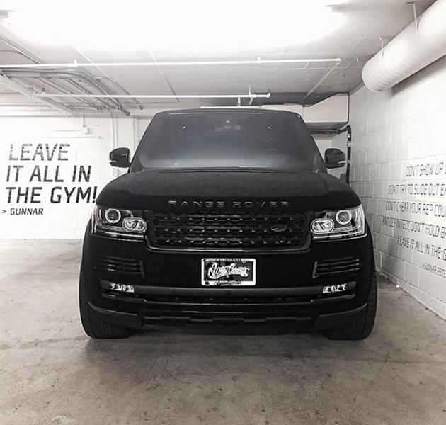 Khloe's Range Rover