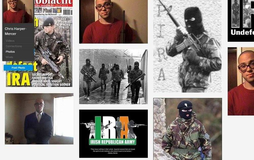 Oregon gunman posted IRA tributes on social media