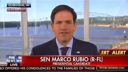 Sen. Marco Rubio on Fox News on Oct. 2 2015