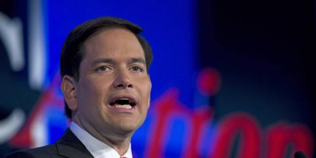 Utah's Stewart, Hughes back Rubio for president