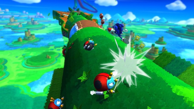 Nintendo Wii's 'Sonic Lost World&#39 screenshot