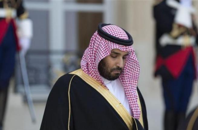 Saudi Deputy Crown Prince and Defense Minister Prince Mohammad bin Salman bin Abdul Aziz Al Saud