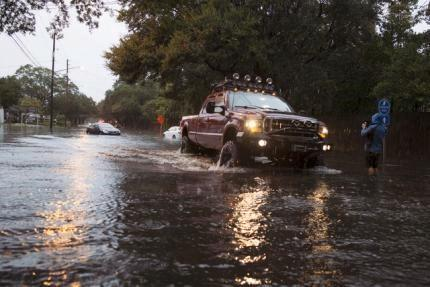 Dangerous East Coast storm brings misery to South Carolina