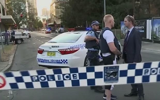 Two dead in shooting outside Australian police headquarters