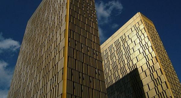 The European Court of Justice. Pic sprklg- Quartier Européen Nord Kirchberg