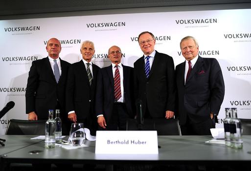 The new CEO Martin Meuller replaces outgoing CEO Martin Winterkorn