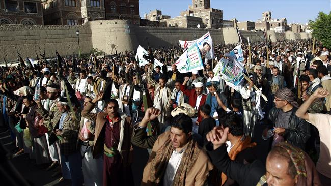 V for victory greets Saudis in Yemen, recalling U.S. in Iraq