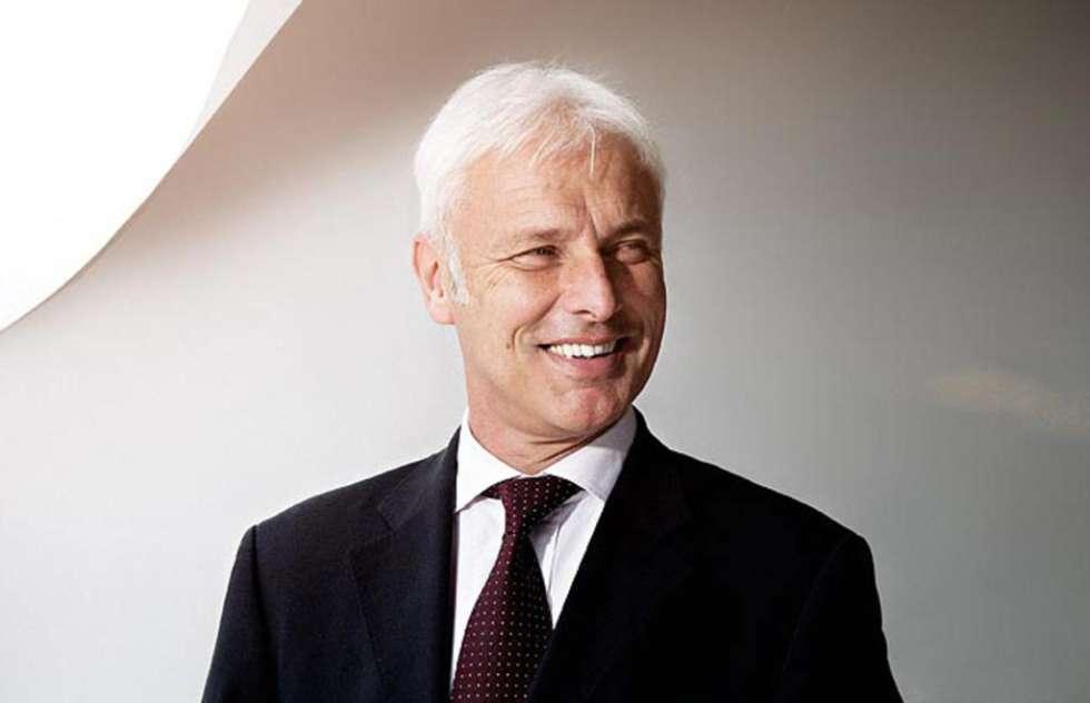 Porsche boss Matthias Müller