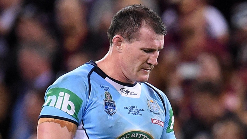 Former NSW forward Mark Geyer wants Paul Gallen to be denied a State of Origin farewell