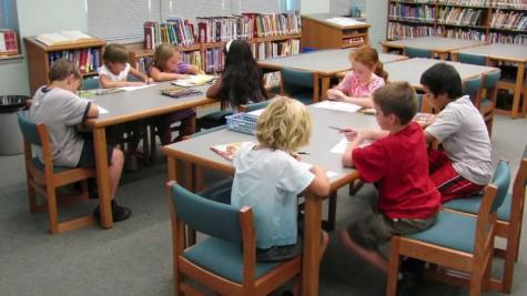 Lester library preps for summer reading program for Winter gardens elementary school