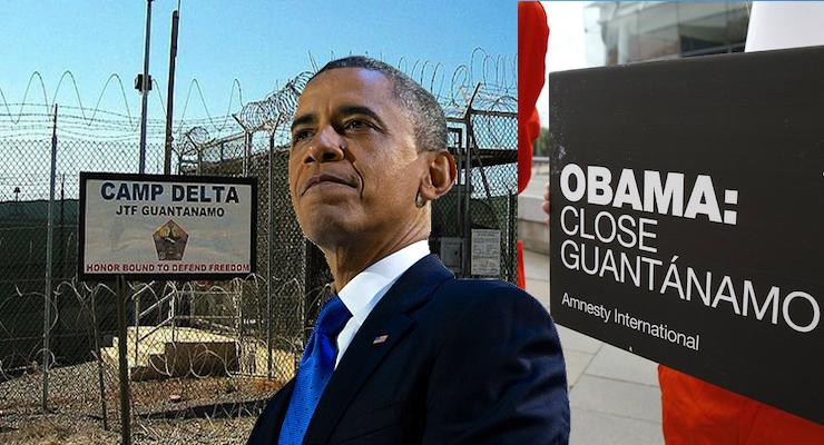 obama vs bush guantanamo bay