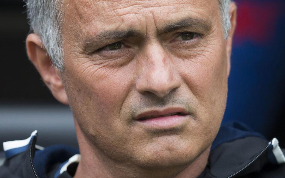 Manchester United's Jose Mourinho AFP