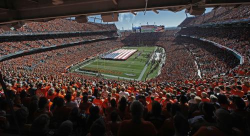 Denver Broncos: 'Starting Sunday, we'll be standing together'