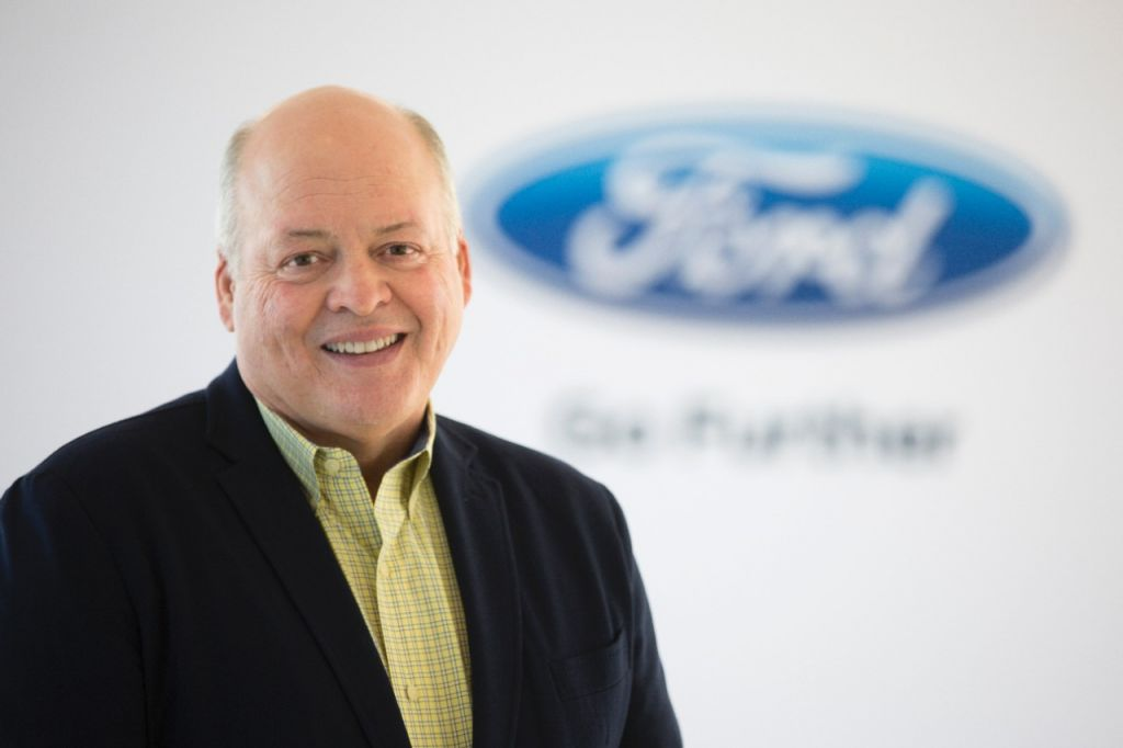 Ford Motor Co. CEO Jim Hackett