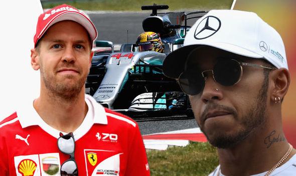 Japanese Grand PRix 2017 starring Lewis Hamilton And Sebastian Vettel