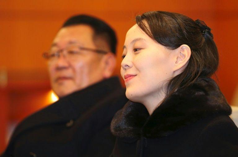 Two Koreas Kim's sister star at freezing Olympic opener