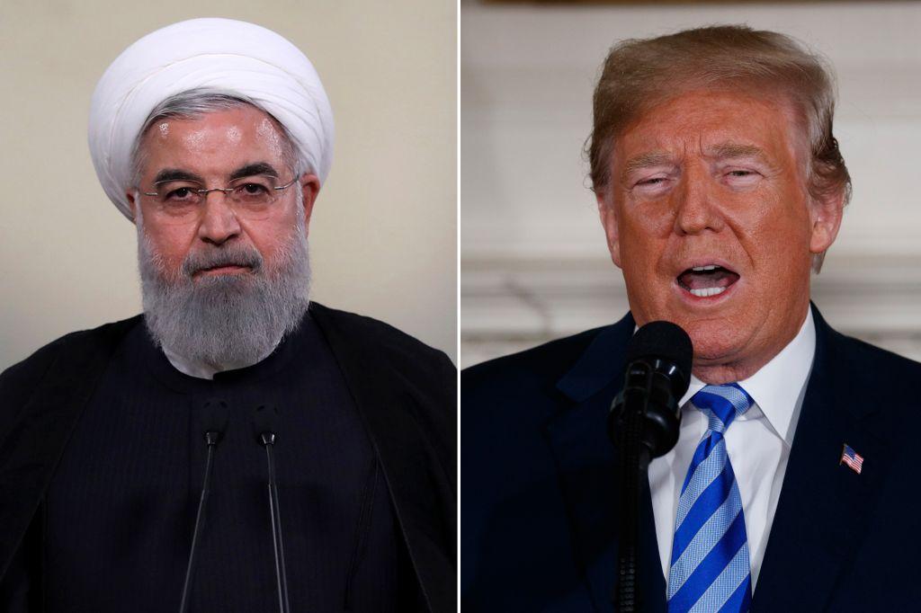 Iranian lawmakers set paper US flag ablaze shout 'Death toAmerica