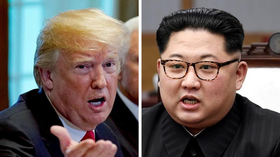 Donald Trump and North Korea leader Kim Jong Un