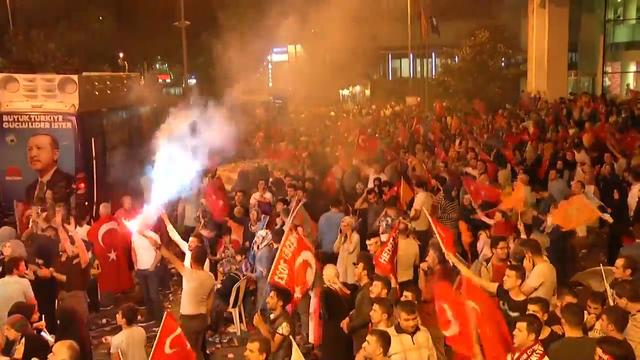 Erdogan declares victory in Turkish polls as opposition cries foul